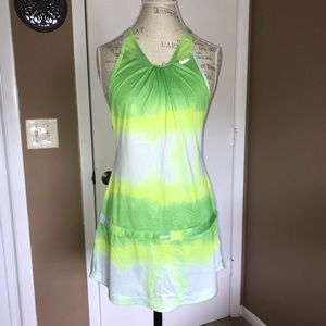 DRI-FIT Nike Lime Green Tank Top